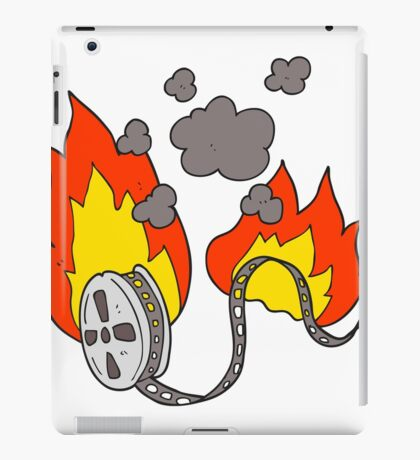 cartoon movie film burning iPad Case/Skin