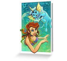 Ariel's Pokemon Greeting Card