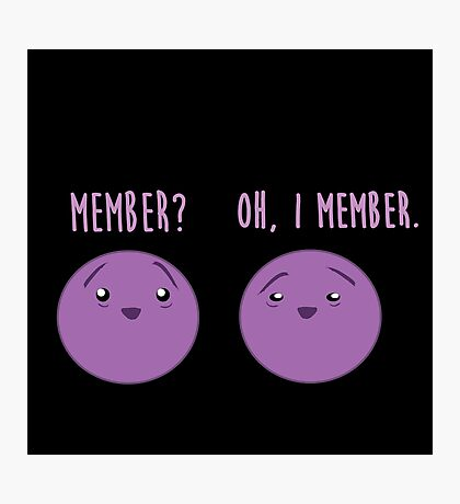 Member Berries : Member? Berry Southpark Fanart Print Photographic Print