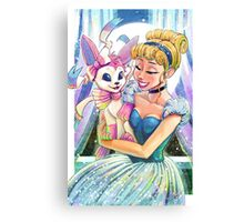 Cinderella's Pokemon Canvas Print