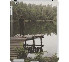 Loneliness by the lake iPad Case/Skin