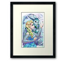 Elsa's Pokemon Framed Print