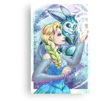 Elsa's Pokemon Canvas Print