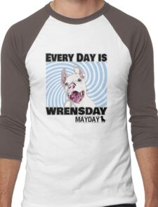 Every Day is Wrensday Men's Baseball ¾ T-Shirt