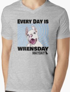 Every Day is Wrensday Mens V-Neck T-Shirt
