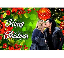 Calzona christmas Photographic Print