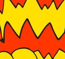 cartoon pow symbol Sticker