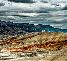 Painted Lanscape by Richard Bozarth