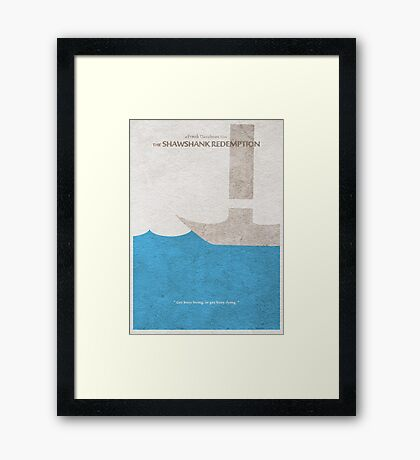 The Shawshank Redemption Framed Print