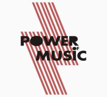 Power of music Kids Clothes