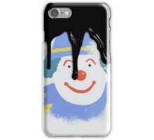 I might paint a picture of a clown iPhone Case/Skin