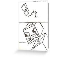 Never Again Greeting Card