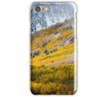 A Fall Hillside iPhone Case/Skin