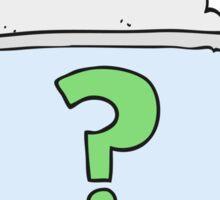 cartoon internet search Sticker