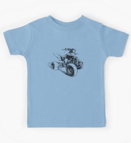 ATV motor draw Kids Tee