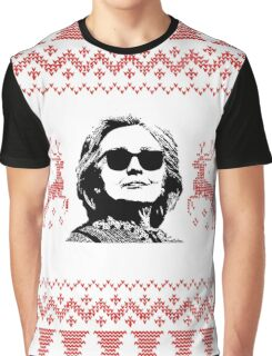 "Merry ""Hillary"" Christmas Graphic T-Shirt"