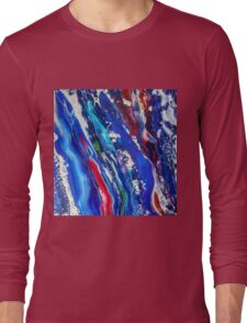 Abstract painting 18 Long Sleeve T-Shirt