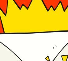 cartoon email message Sticker