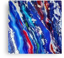 Abstract painting 18 Canvas Print