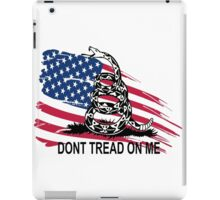Gadsden Flag Don't Tread On Me Shirt, Cases, Stickers, Pillow, Posters, Cards iPad Case/Skin