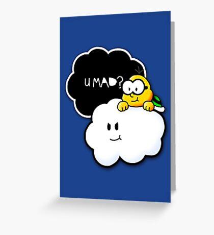 U Mad? Greeting Card