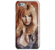 Madeline Smith, Actress iPhone Case/Skin