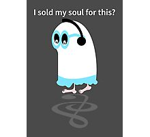 Little ghost sold his soul  Photographic Print