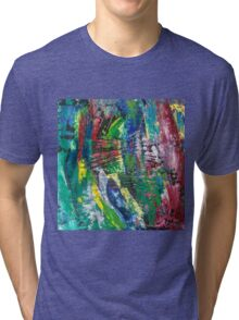 Abstract painting 10 Tri-blend T-Shirt