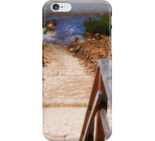 Stairs to the Beach iPhone Case/Skin