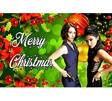 Sanvers christmas Photographic Print