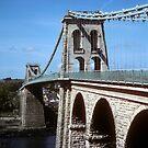 Menai Suspension Bridge by nealbarnett