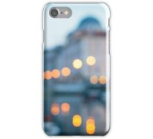 sunset from a boat in Trieste iPhone Case/Skin