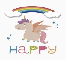 My little Happy Pony! Kids Tee
