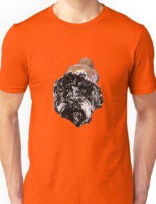 Cockapoo with a Winter Hat (Orange) Unisex T-Shirt