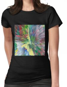 Abstract 122 Womens Fitted T-Shirt
