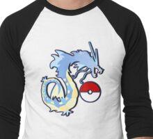 los gyarados  Men's Baseball ¾ T-Shirt