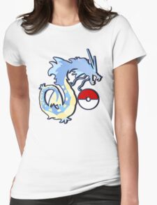los gyarados  Womens Fitted T-Shirt