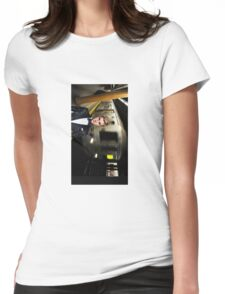 Justin edit Womens Fitted T-Shirt