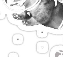 Corgi-naut  Sticker