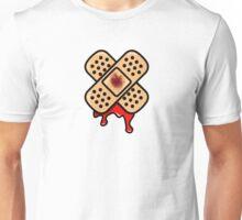 Bleeding Plaster Stickerbomb Graphic Unisex T-Shirt