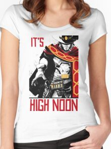 OVERWATCH MCCREE Women's Fitted Scoop T-Shirt