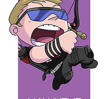 Hawkeye by gunyuloid