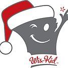 Santa Wis-Kid Sticker by gstrehlow2011