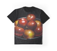 Apples in a bowl Graphic T-Shirt