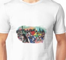 New York- Digital Art Unisex T-Shirt