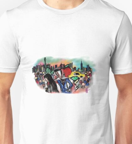 New York- Digital Art Unisex T-Shirt