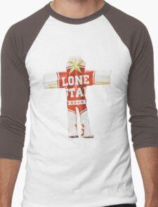 Beer Can Man Men's Baseball ¾ T-Shirt