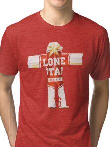Beer Can Man Tri-blend T-Shirt