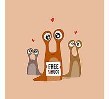 Free slugs Photographic Print