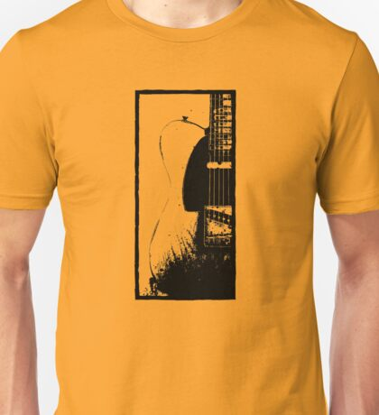 Telecaster Guitar - Keith Richards Unisex T-Shirt